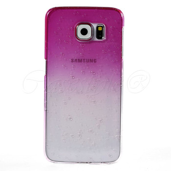 Samsung Galaxy S6 Cover Pink Clear