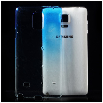 Samsung Galaxy Note 4 Case Blue Clear