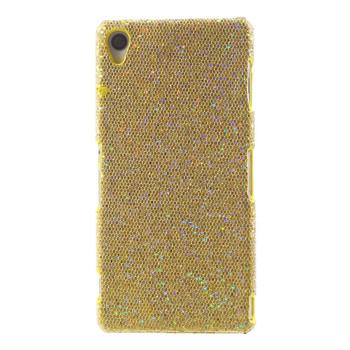 Sony Xperia Z3 Glitter Case Gold