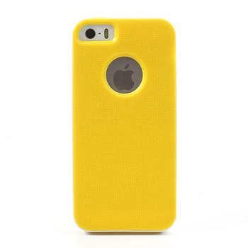 iPhone 5 5S Bumper Case Yellow Back Cover