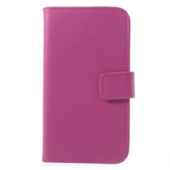 Samsung Galaxy S5/S5 NEO Leather Wallet Case Pink
