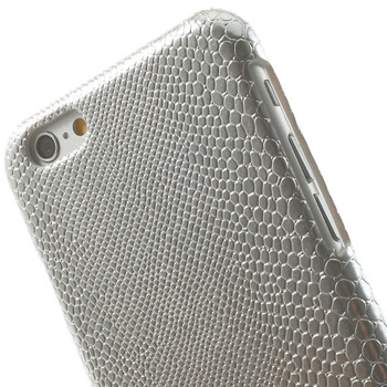 iPhone 6 6S SnakeSkin Style Case Silver