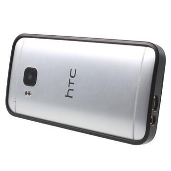 HTC One M9 Metal Bumper Case Black