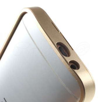 HTC One M9 Metal Bumper Case Gold