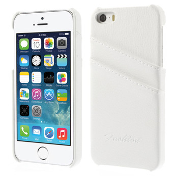 White Leather iPhone 5S