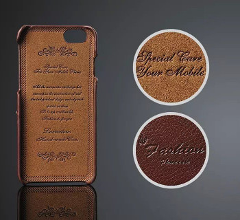 iPhone 6+6S PLUS Genuine Leather Card Case Brown