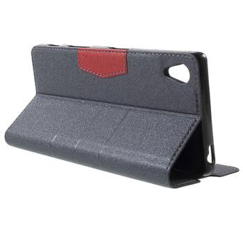 Sony Xperia Z5 Wallet Case Grey