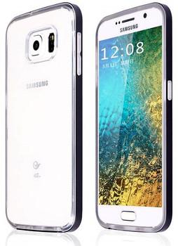 Samsung S6 Metal Bumper Clear