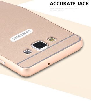 Samsung Galaxy A5 Case Cover Gold