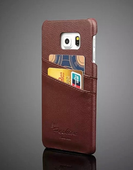 Samsung S6 Edge Plus Leather Cover