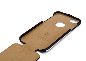 iCarer iPhone 6 6S Vintage Leather Flip Case Black