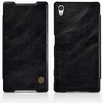 Nillkin Sony Xperia Z5 Qin Leather Case Black