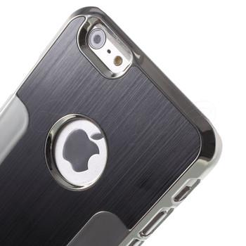 iPhone 6S 6 Brushed Metal Case Black