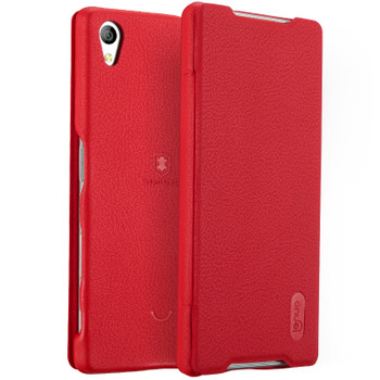 Sony Z5 Red Leather