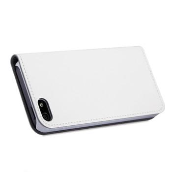 iPhone 5S 5 Flip Case Cover White