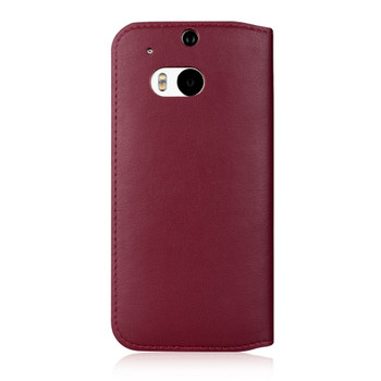 HTC One M8 Flip Case Cover Red