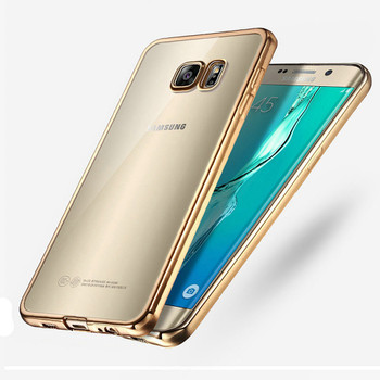 Samsung S6 EDGE+PLUS Bumper Case Gold