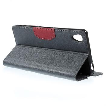 Sony Xperia Z3 Flip Cover Case Dark Grey