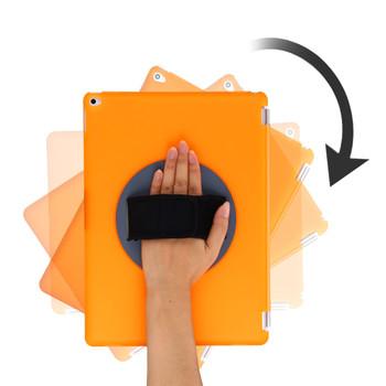 iPad Pro 12.9 Rotating Case Orange
