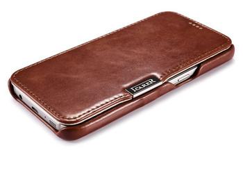 iCarer Samsung Galaxy S7 Vintage Leather Case Brown