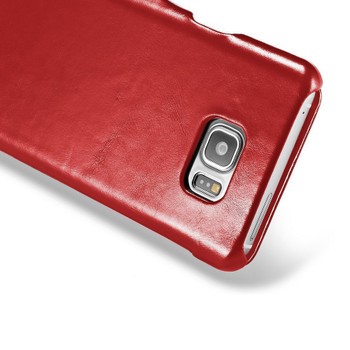 iCarer Samsung Galaxy S7 Vintage Leather Case Red