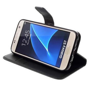 Samsung Galaxy S7 Wallet Case Black
