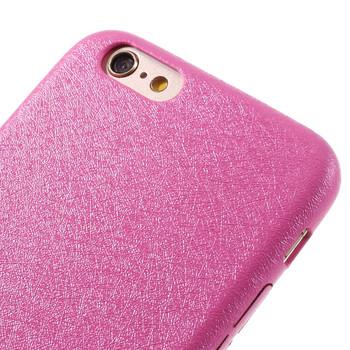 iPhone 6S 6 Silk Texture Case Pink