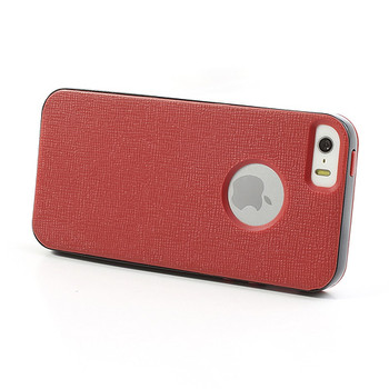 iPhone SE Bumper Case Red Back Cover