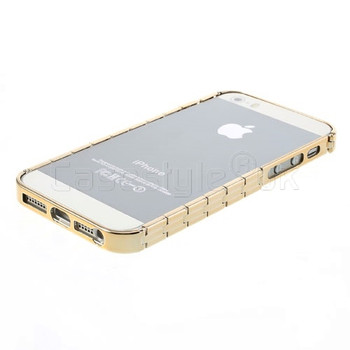 iPhone SE Bracelet Bumper Case Gold