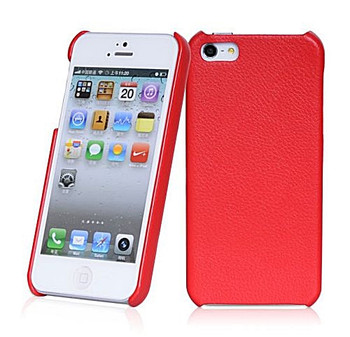 iPhone SE Leather Back Red