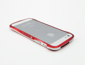 Deff Cleave iPhone SE Aluminum Bumper Red