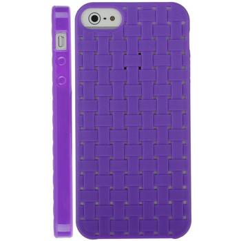 iPhone SE Silicone Skin Purple