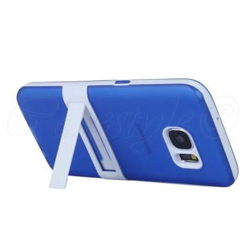 Samsung Galaxy S7 Stand Case Blue
