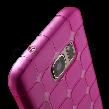 Samsung Galaxy S7 Silicone Case Pink