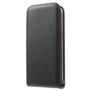 Samsung Galaxy S7 Leather Flip Case Black
