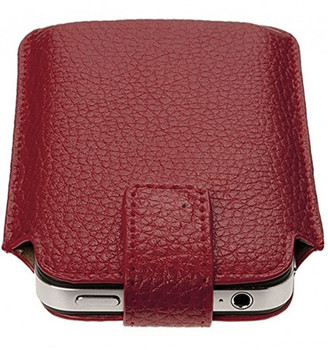 iPhone 4s leather pouch