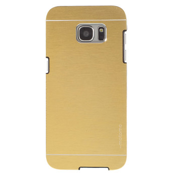 Samsung Galaxy S7 EDGE Aluminum Back Case Gold