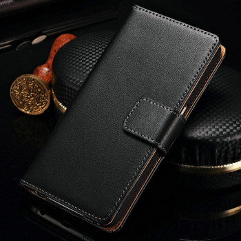 Samsung Galaxy S7 EDGE Leather Wallet Cover