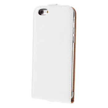 iPhone 6S 6 Leather Cover Case White