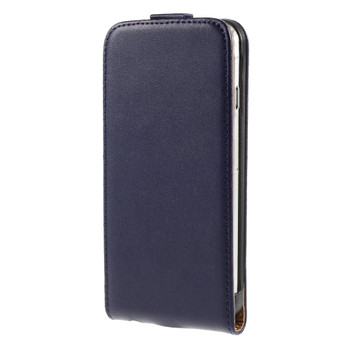 iPhone 6S 6 Leather Cover Case Purple
