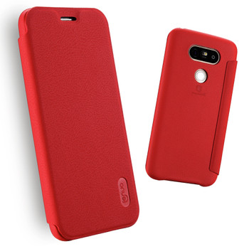 LG G5 Soft Slim Full Cover Case Red