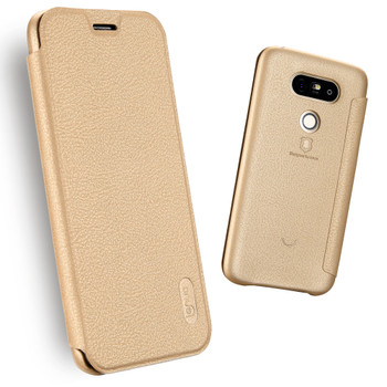 LG G5 Soft Slim Full Cover Case Gold