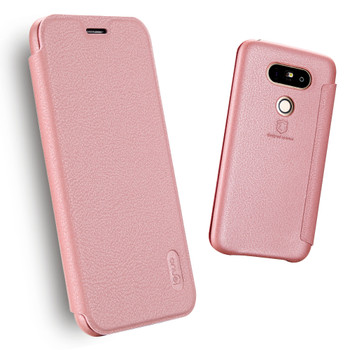 LG G5 Soft Slim Full Cover Case Pink