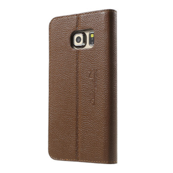 Samsung Galaxy S7 EDGE Genuine Leather Slim Case Brown
