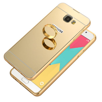 Samsung Galaxy A5 2016 Bumper Case+Back Cover Gold
