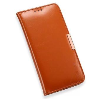 Samsung Galaxy Note 7 Premium Leather Wallet Case Brown