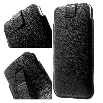 iPhone 7 PLUS Real Leather Pouch Case