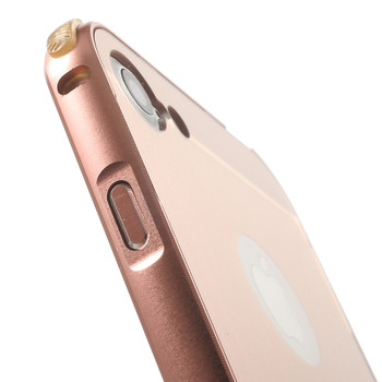 iPhone 7 Metal Aluminum Bumper Case+Back Rose Gold