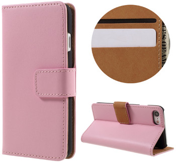 iPhone 7 PLUS Leather Case Pink