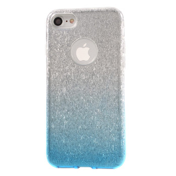 iPhone 7 Glitter Sparkling Case Clear Blue